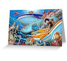 ONE PIECE #07 Greeting Card