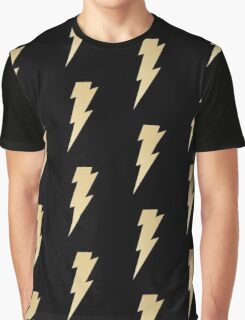 Golden thunderbolt Graphic T-Shirt