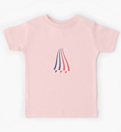 Jets with Stars and Stripes Kids Tee