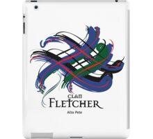 Clan Fletcher - Prefer your gift on Black/White tell us at info@tangledtartan.com  iPad Case/Skin