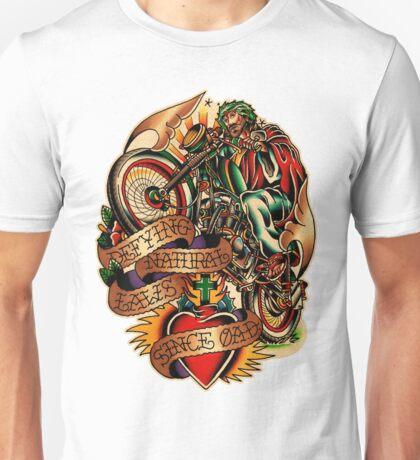 Jesus Wheelie Unisex T-Shirt