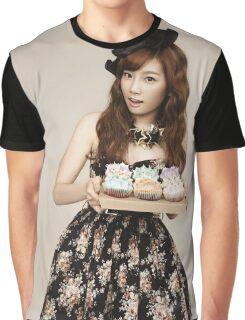 TaeYeon SNSD Girls Generation KPOP Graphic T-Shirt