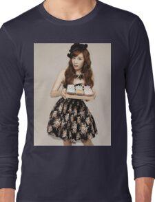 TaeYeon SNSD Girls Generation KPOP Long Sleeve T-Shirt