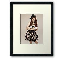 TaeYeon SNSD Girls Generation KPOP Framed Print