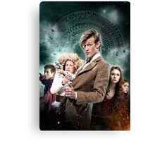 DOCTOR WHO : THE PANDORICA OPENS Canvas Print