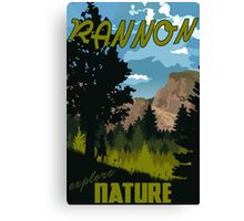 Travel: Rannon Canvas Print