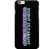 Point Pleasant Police Department - Jimmy Fallon iPhone Case/Skin