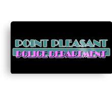 Point Pleasant Police Department - Jimmy Fallon Canvas Print