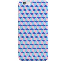Pink cubes iPhone Case/Skin
