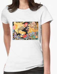 ONE PIECE #10 Womens Fitted T-Shirt
