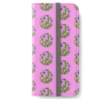 Sunflowers - Pink iPhone Wallet/Case/Skin
