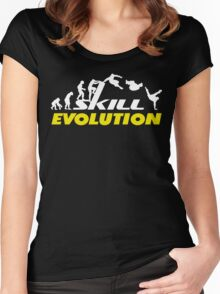 Evolution Parkour Women's Fitted Scoop T-Shirt