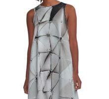 Tesselated A-Line Dress