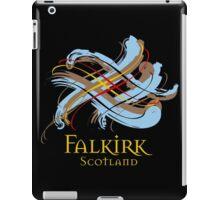 Falkirk, Scotland - Prefer your gift on Black/White tell us at info@tangledtartan.com  iPad Case/Skin