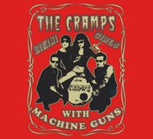 The Cramps (Bikini Girls) Vintage One Piece - Short Sleeve