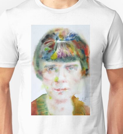 KATHERINE MANSFIELD - watercolor portrait.2 Unisex T-Shirt