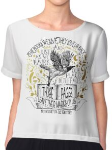 Nevernight - Books Love Us Back Chiffon Top