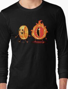 The Ring & Sauron Long Sleeve T-Shirt