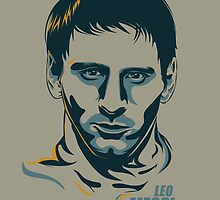 Lionel Messi by Nasir Udin