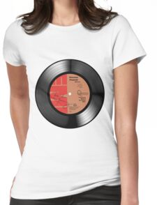 Bohemian Rhapsody Signed Art Womens Fitted T-Shirt