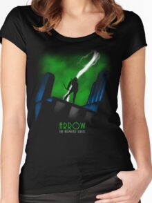 Arrow The Animated Series Women's Fitted Scoop T-Shirt