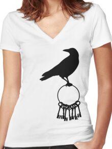 Bon Iver.Re:Stacks Women's Fitted V-Neck T-Shirt