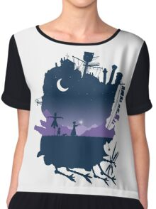 howls moving castle Chiffon Top