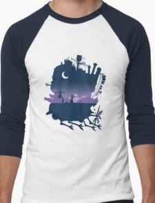 howls moving castle Men's Baseball ¾ T-Shirt