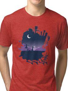howls moving castle Tri-blend T-Shirt
