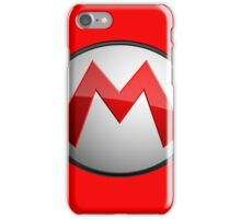 Logo Super Mario 2 iPhone Case/Skin