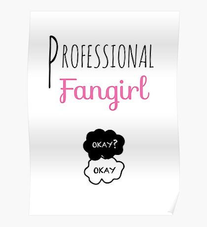 Professional Fangirl - The Fault in Our Stars Poster
