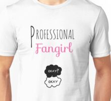 Professional Fangirl - The Fault in Our Stars Unisex T-Shirt