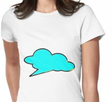 Retro Bubble Womens Fitted T-Shirt
