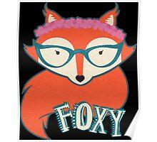 Foxy Foxy Poster