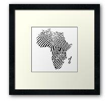 Africa DNA Framed Print