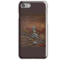 vintage chisels iPhone Case/Skin