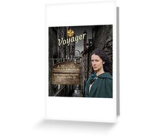 Voyager/Claire & Jamie's Print shop Greeting Card