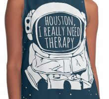 I really need therapy Contrast Tank