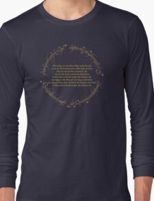 The Rings Long Sleeve T-Shirt