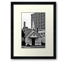 The Little Chapel Framed Print