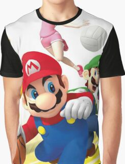 Mario Sports Graphic T-Shirt