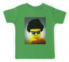 Lego me with a slightly blue background Kids Tee
