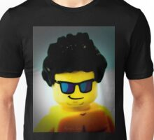 Lego me with a slightly blue background Unisex T-Shirt