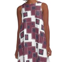 Squared A-Line Dress