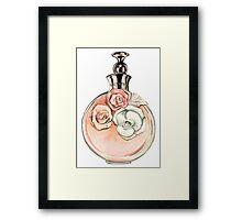 Valentino fragance Framed Print
