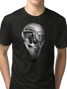 Escher Art Tri-blend T-Shirt