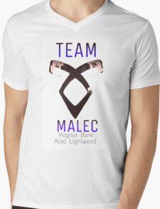 Team Malec Alec Magnus Mens V-Neck T-Shirt