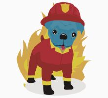 Pugsy I'm a firedog Kids Clothes
