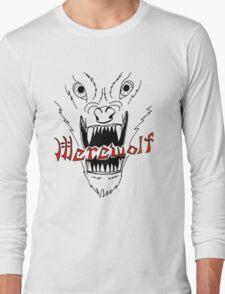 Face of the Werewolf Long Sleeve T-Shirt