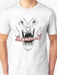 Face of the Werewolf Unisex T-Shirt